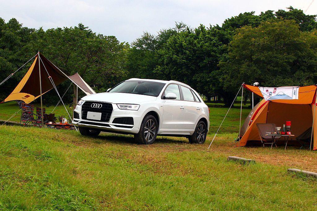 Audi Taiwan推出正式推出「Q3精彩無限版」,提供近40萬台幣的配備升級。 記者張振群/攝影