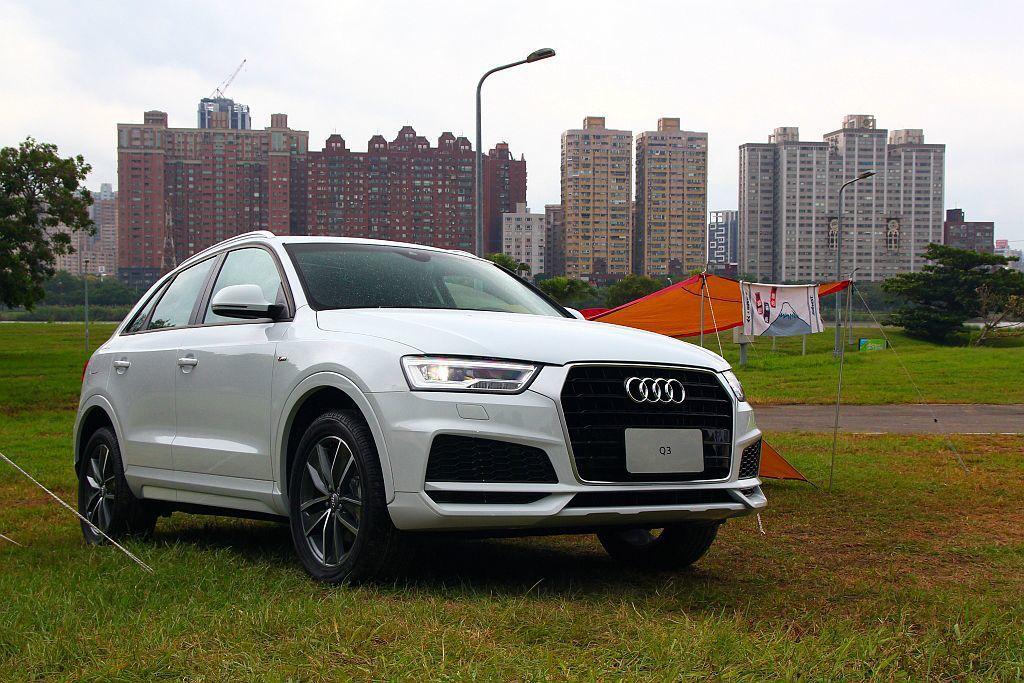雖然第二代Audi Q3已經在國外現身,不過台灣最快也明年才能導入,現在購入第一代Audi Q3也是最划算的時刻。 記者張振群/攝影