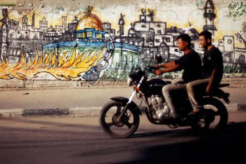 巴勒斯坦目前還沒有合法的機車出租、沒有相關保險,當地在發展機車的相關配套措施上還...
