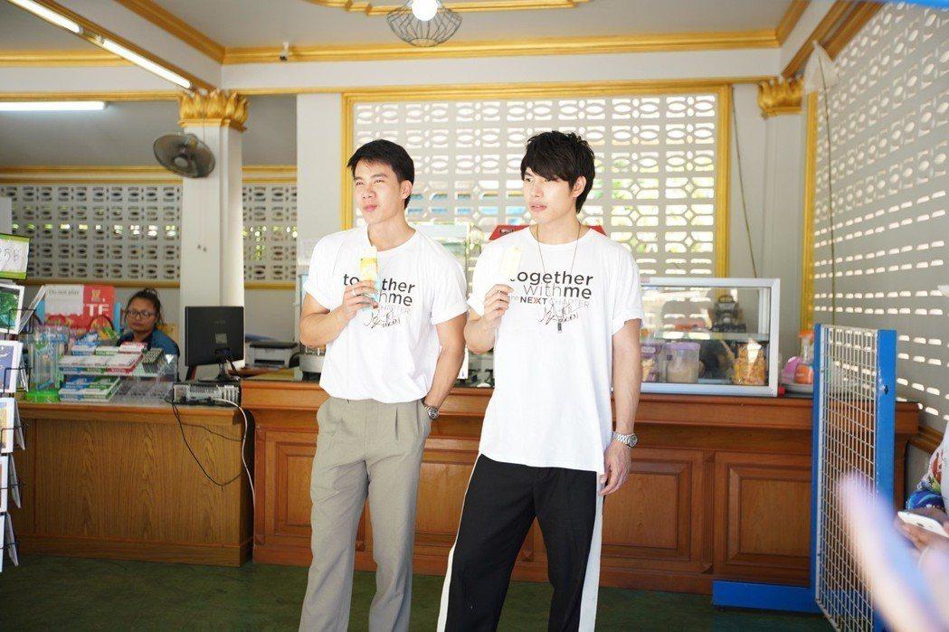 Tul(左)與Max演出BL劇大受歡迎。圖/TV Thunder提供