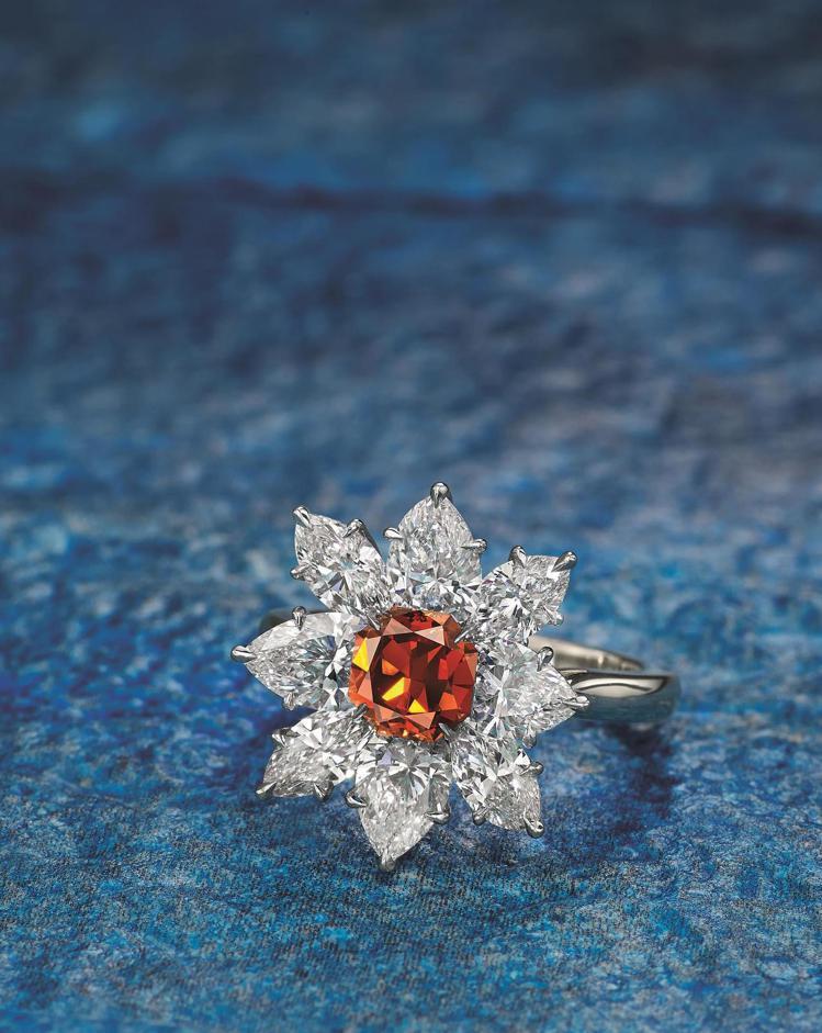 中國嘉德「希望之火-The Ember Diamond」 極為珍罕1.26克拉天...