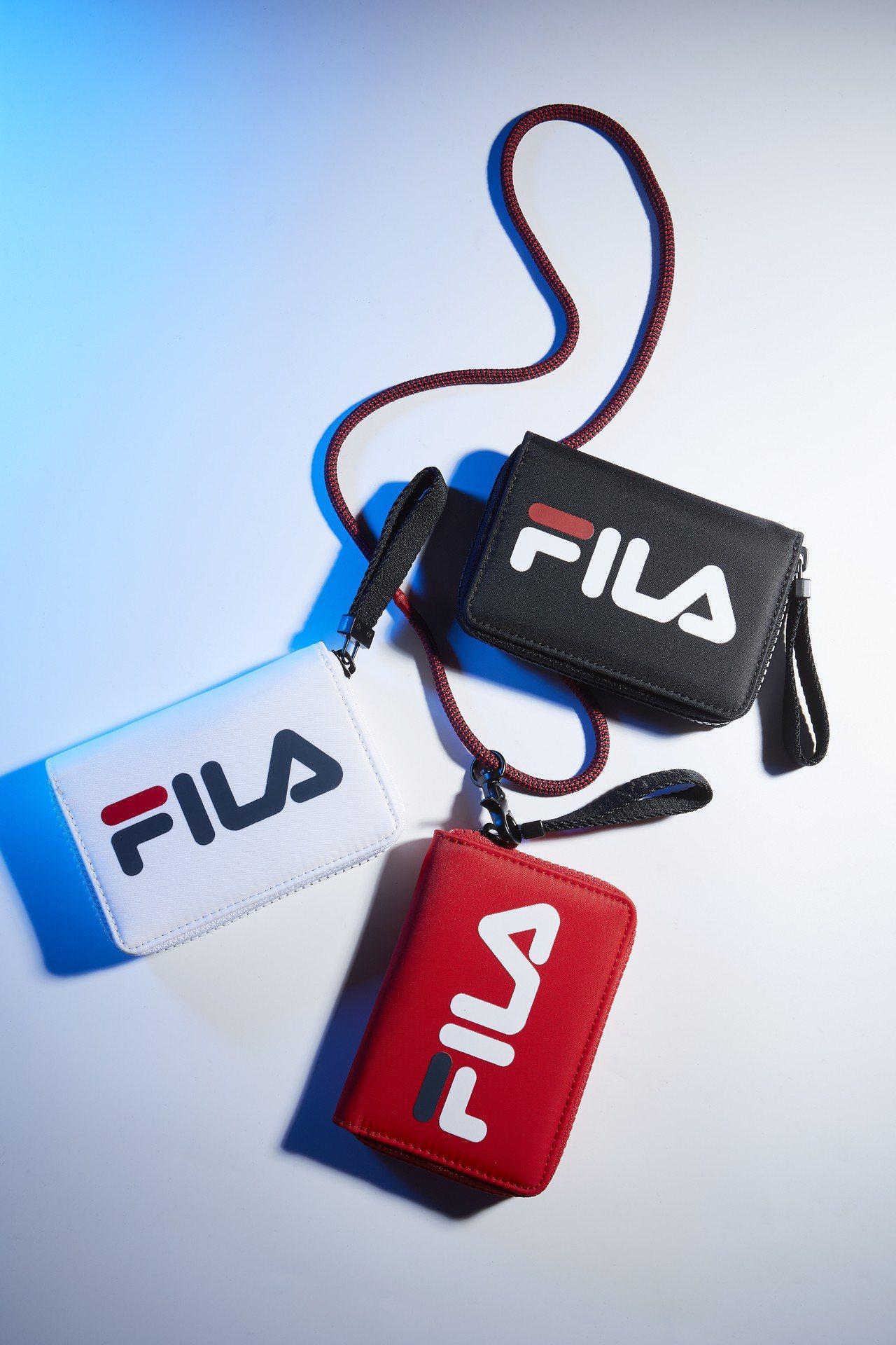FILA 2019年春夏ICONIC系列票卡套,2,280元。圖/FILA提供