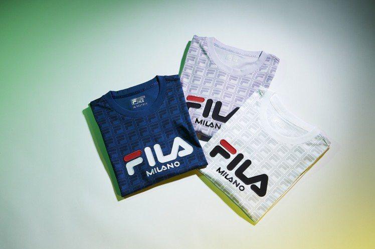 FILA 2019年春夏ICONIC系列短袖T恤,2,680元。圖/FILA提供