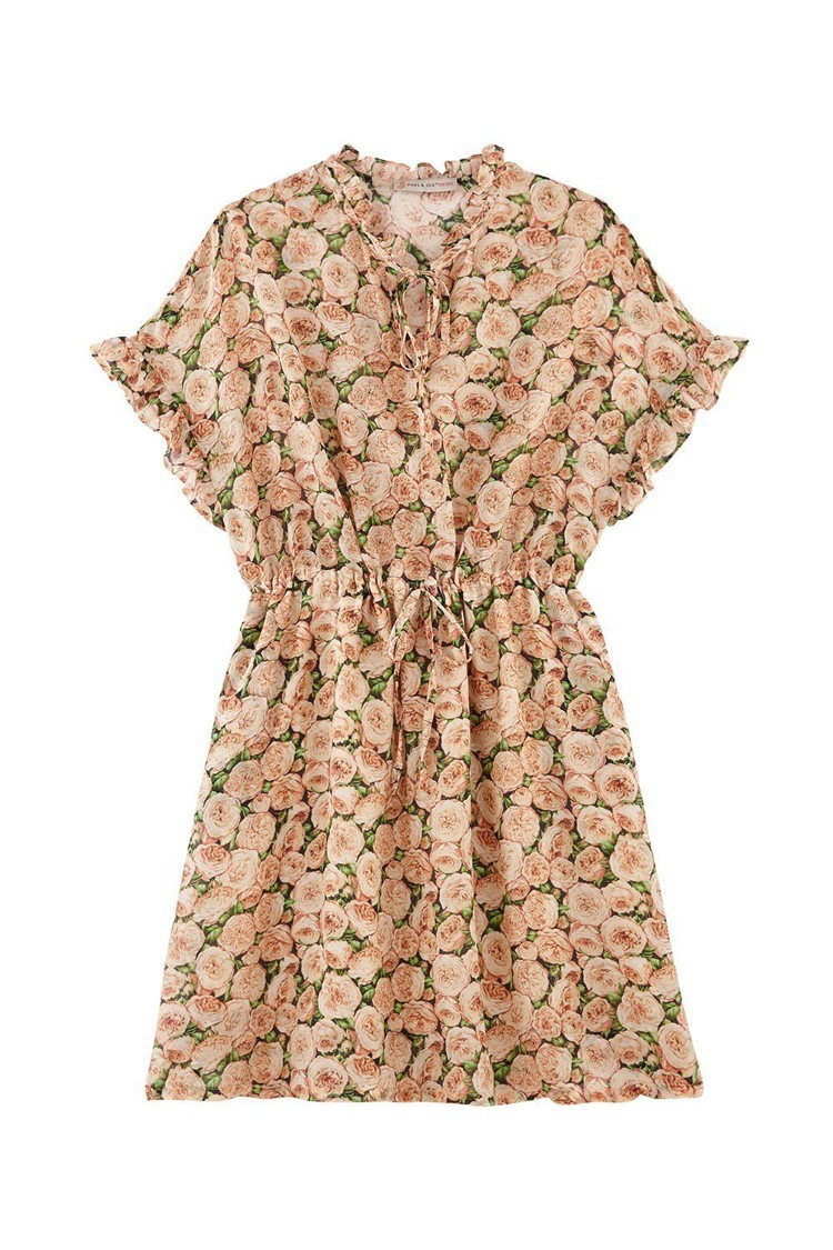 Paul & Joe Sister秋冬系列牡丹花洋裝,14,800元。圖/惇聚提...