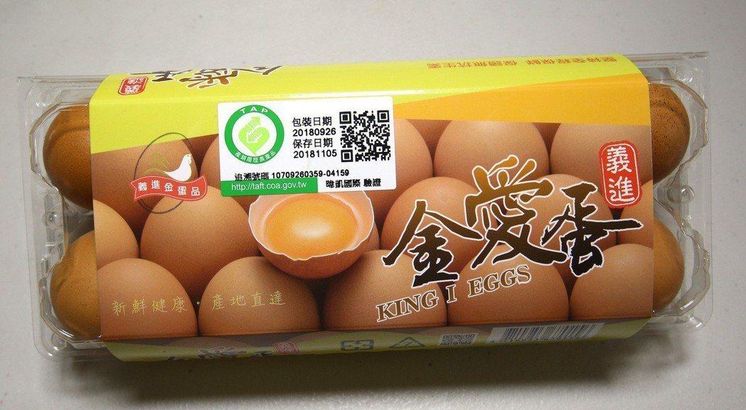 全聯的雞蛋供貨商義進金公司生產的蛋品爆出動物用藥殘留,全聯昨天已將超市內販售的共...