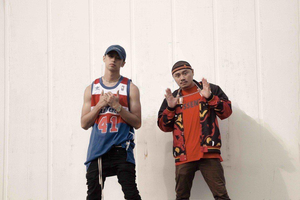 嘻哈雙人組「RPG & NEOSO」推出新歌。圖/基械貓提供