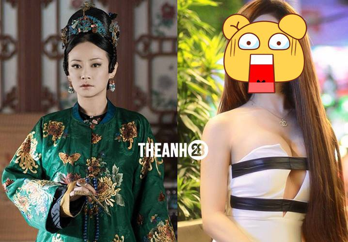 外傳越南版的「高貴妃」飾演者。圖/擷自Theanh28臉書