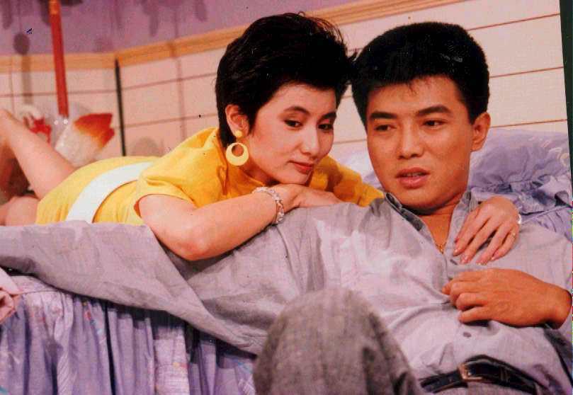 張佩華曾是當紅小生,(左為)李烈。本報資料照