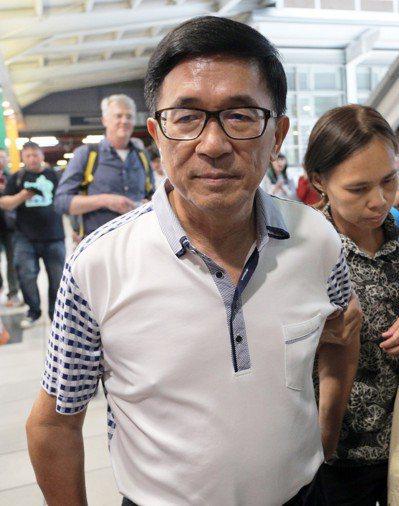 前總統陳水扁今年想參加國慶大典被拒。 圖/聯合報系資料照片
