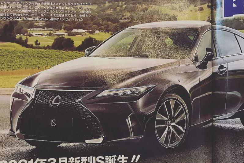 下一代Lexus IS F 終於要捨棄V8 NA 改投V6 Twin-Turbo的懷抱?