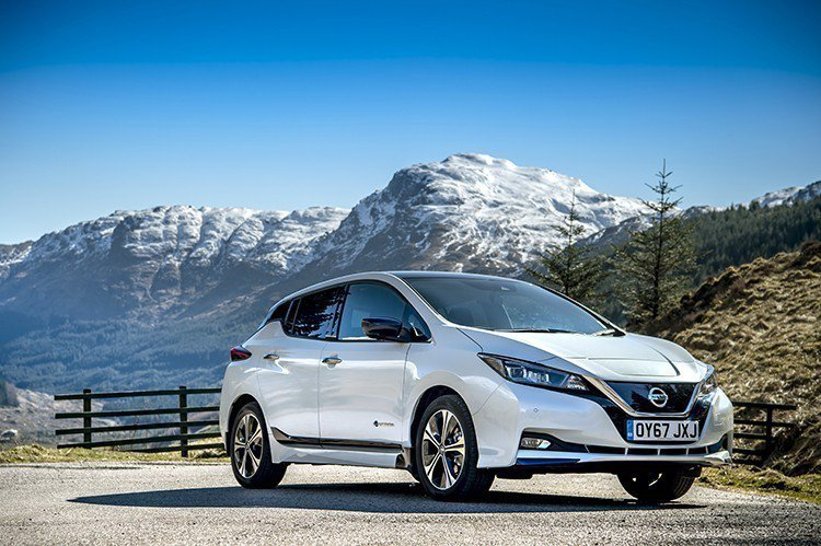 Nissan Leaf目前在歐洲的銷量也是電動車市場中的佼佼者。 摘自Nissan