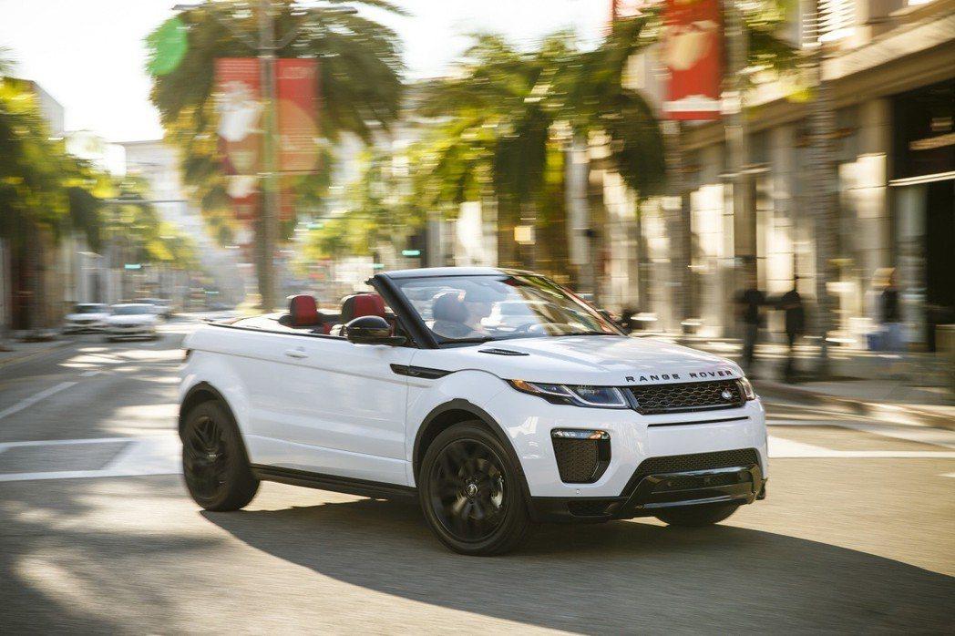 敞篷休旅的開山始祖:Range Rover Evoque Convertible...