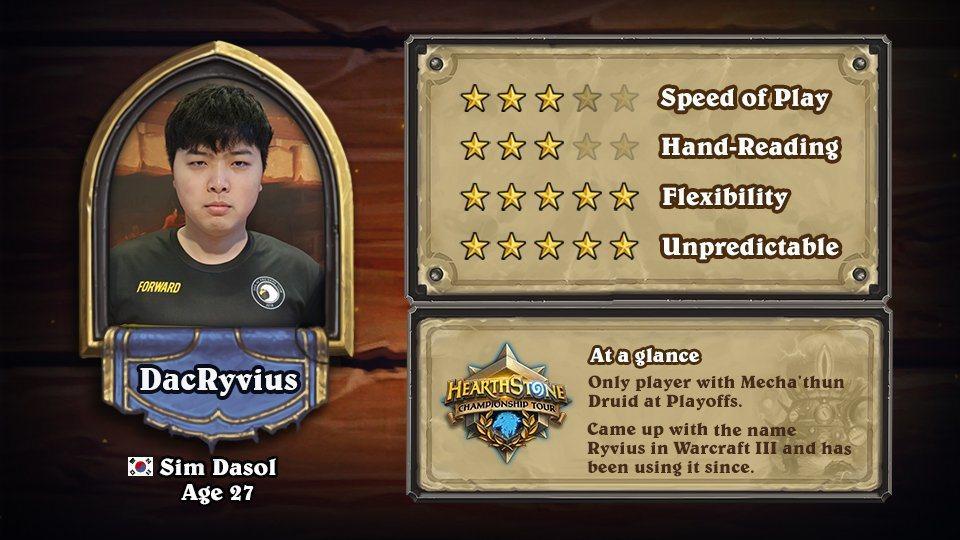韓國選手DacRyvius/不可預測5顆星