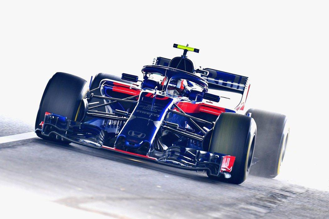 正賽時Gasly很可惜沒能保住第10名的位置。 摘自Toro Rosso