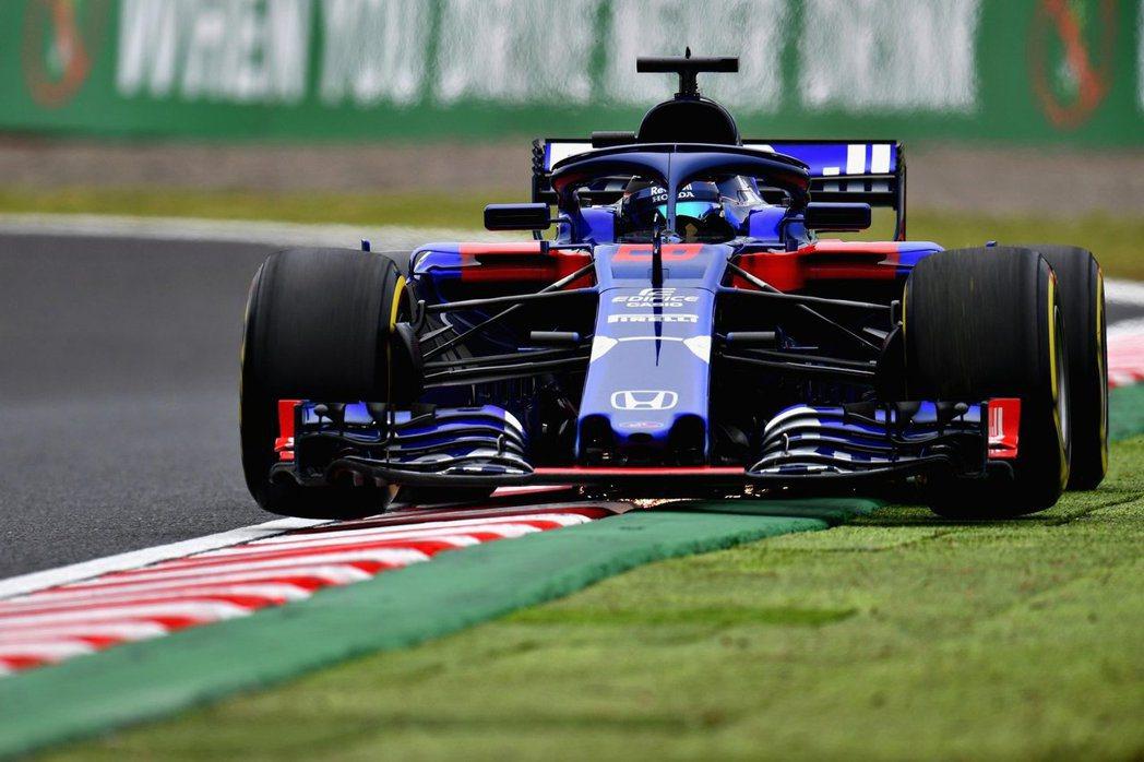 Toro Rosso車隊在日本站排位賽表現相當優異。 摘自Toro Rosso