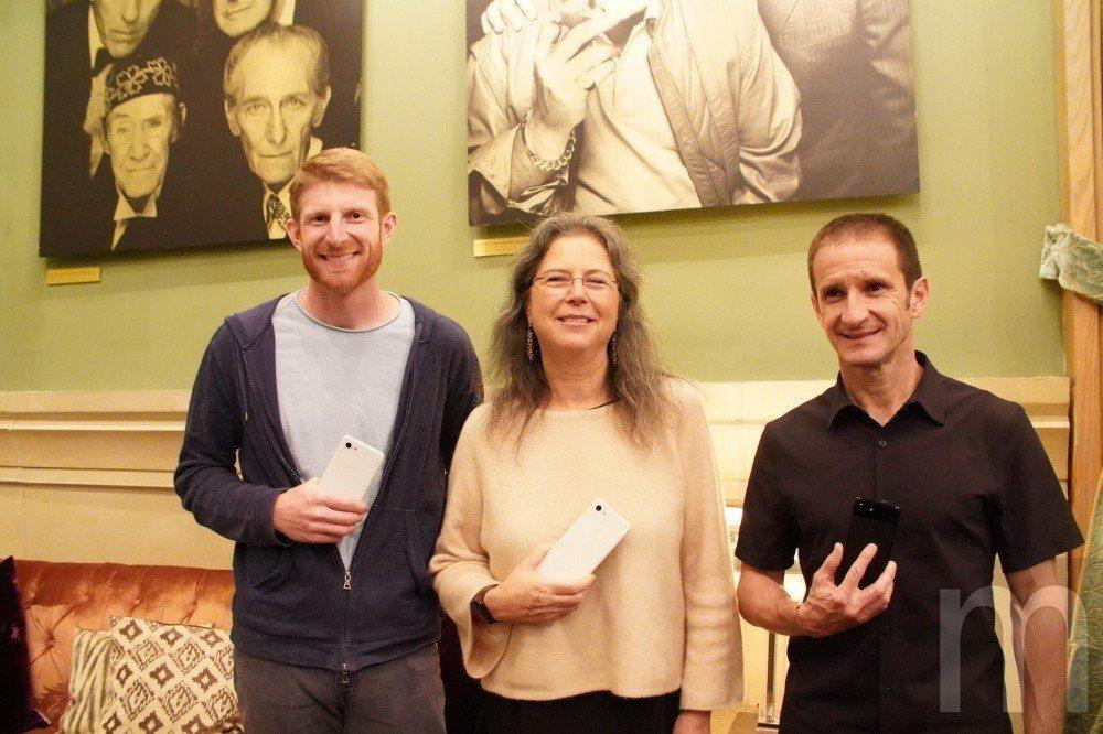 左起:Google Pixel產品管理副總裁Brian Rakowski、Goo...
