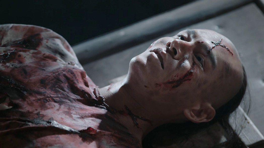 經超飾演的「凌雲徹」慘死。圖/截圖自愛奇藝台灣站