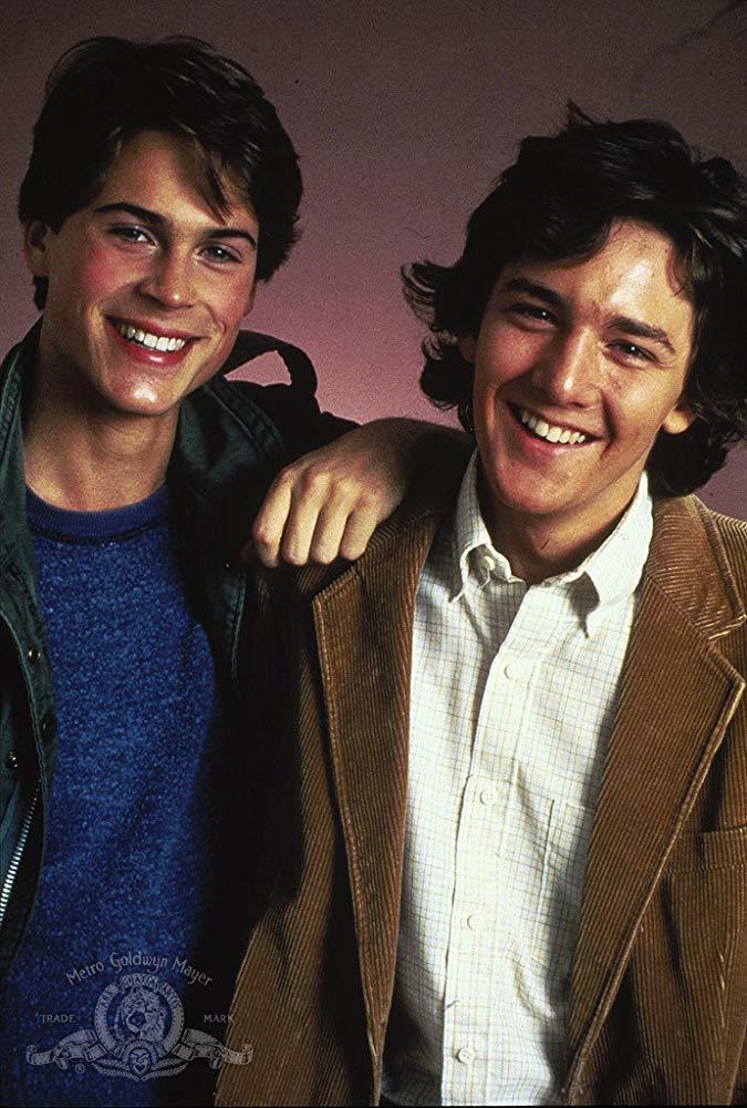 羅伯洛(左)與安德魯麥卡西在「高材生」中演好友。圖/摘自imdb