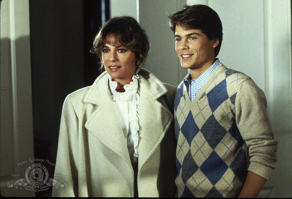 賈桂琳貝茜(左)和羅伯洛在「高材生」中扮母子。圖/摘自imdb