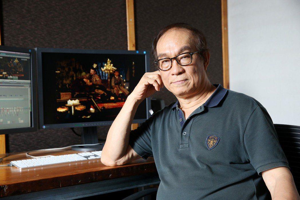 第55屆金馬獎「特別貢獻獎」得主廖慶松。記者邱德祥/攝影