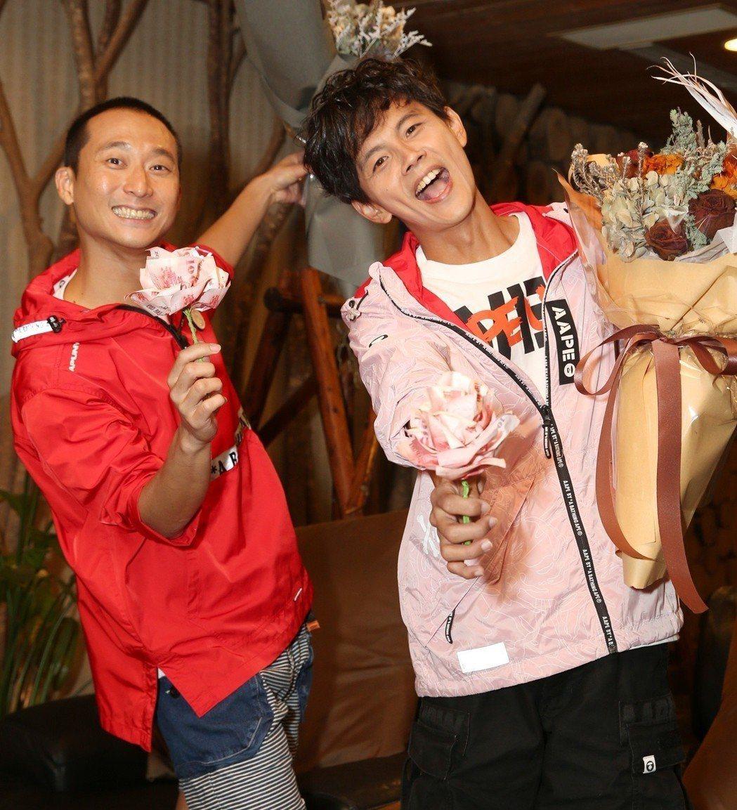 浩子(左)、阿翔。圖/民視提供