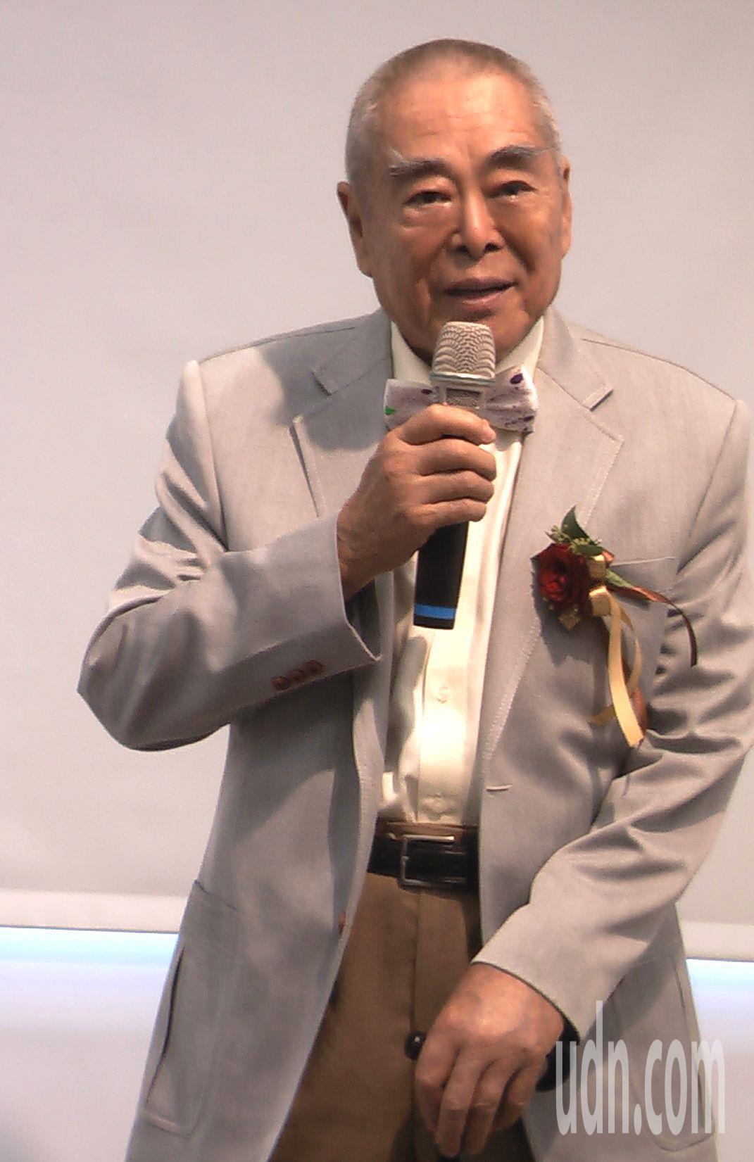 83歲的華人藝術大師蕭勤仍持續奔走,推動藝術文化。記者徐如宜/攝影