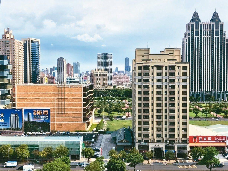 北台灣今年前三季推案量較去年同期增逾2500億。 圖/聯合報系資料照片