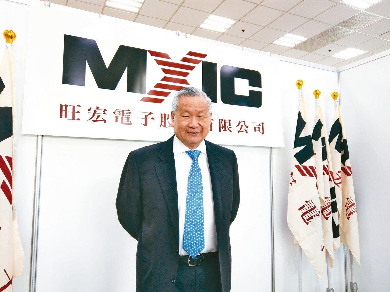 旺宏董事長吳敏求。 圖/聯合報系資料照片