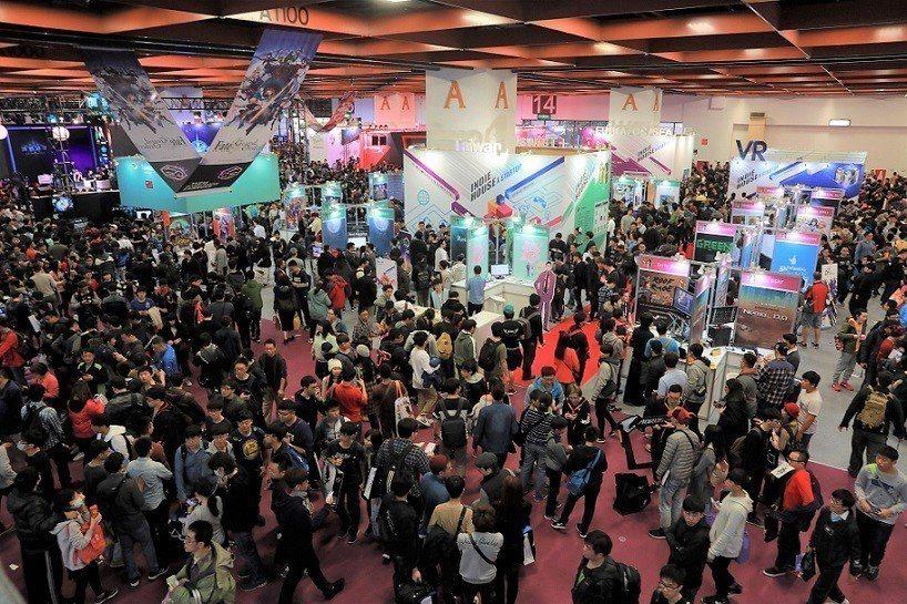 2019台北國際玩腦展將三館納入展區,成為國內少數展覽規模逐年擴大的專業展。 台...