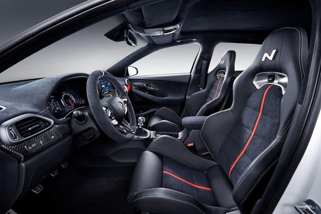 Hyundai i30 N Option內裝。 摘自Hyundai