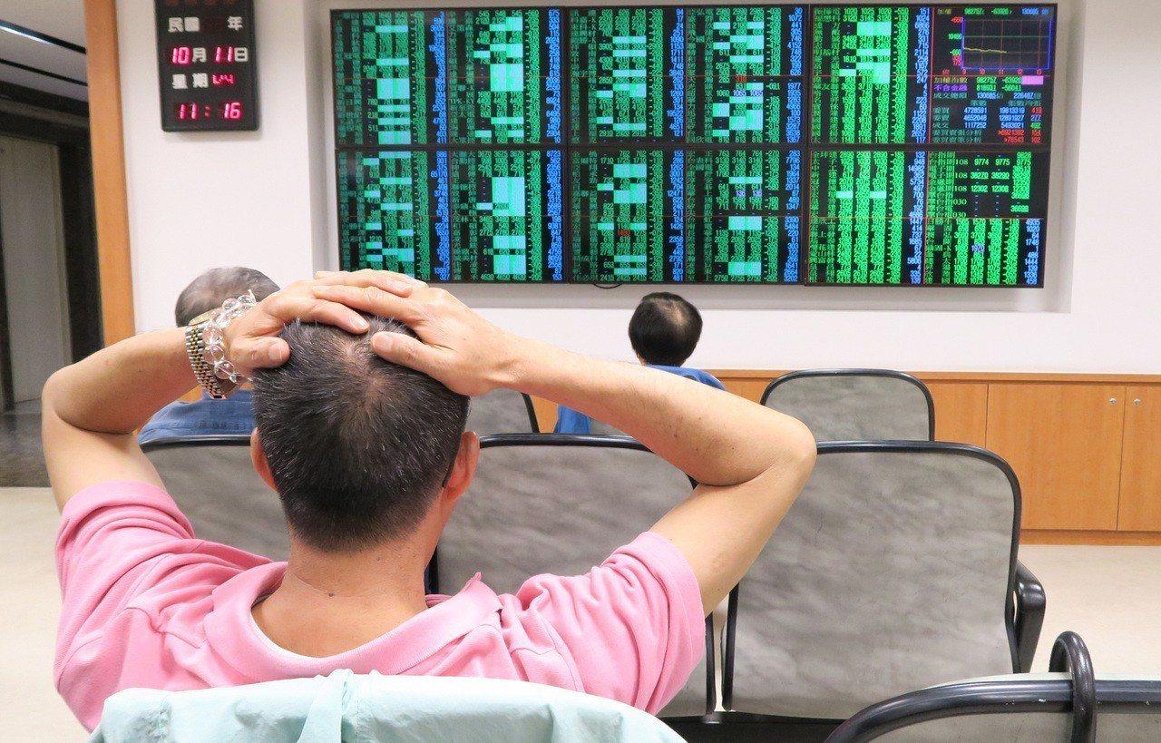美股道瓊工業指數大跌831.83點,台股近一年5個月的萬點行情,在11日盤中跌破...