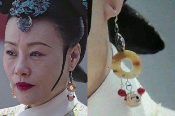 太后戴的耳環竟然是「米奇造型」? 圖片來源/微博