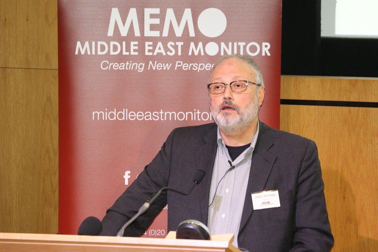 沙國異議記者哈紹吉2日進入沙國駐土耳其伊斯坦堡領事館之後失蹤,引發國際矚目。圖為...