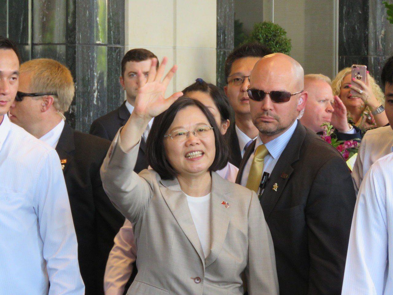台灣總統蔡英文。報系資料照片/華盛頓記者張加攝