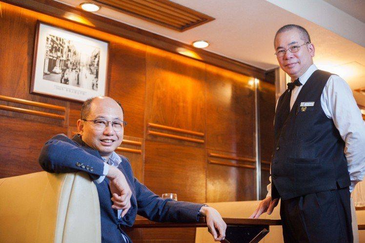 太平館目前由第五代傳人徐錫安(左)負責。圖/香港旅遊發展局提供