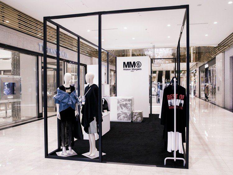 MM6 Maison Margiela在信義微風開設快閃店。圖/BREEZE C...
