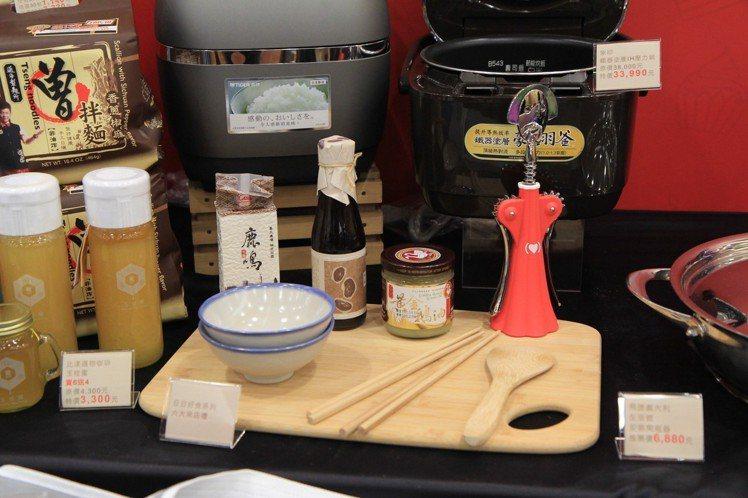 比漾廣場精選台灣在地好食系列產品,在周年慶期間推出日日好食用餐系列卡友禮。圖/比...