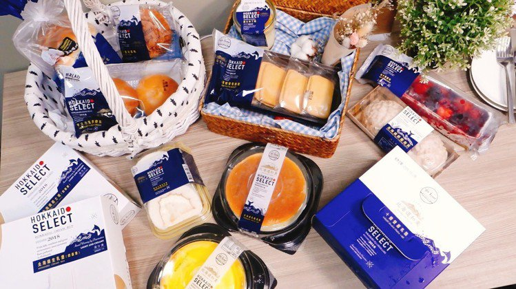 全聯Read Bread北海道起司季第一波共推出13個品項。記者張芳瑜/攝影