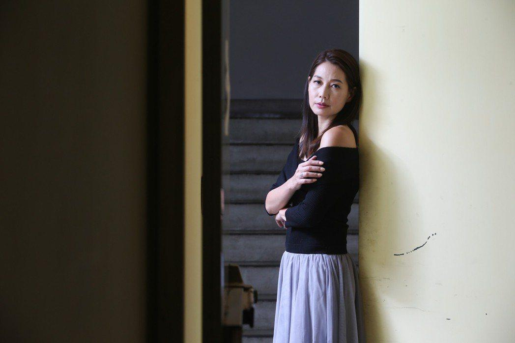 金馬獎女配角入圍者丁寧。記者葉信菉/攝影
