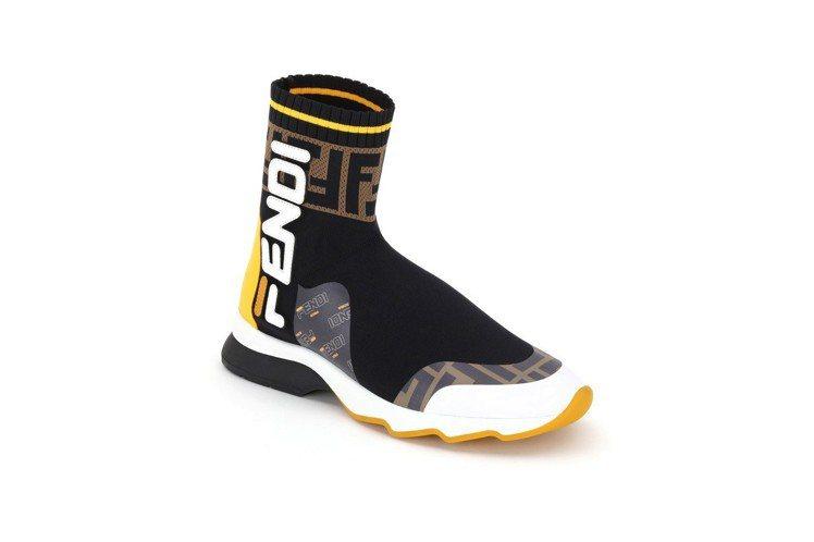 FENDI Mania襪套休閒鞋,價格店洽。圖/FENDI提供
