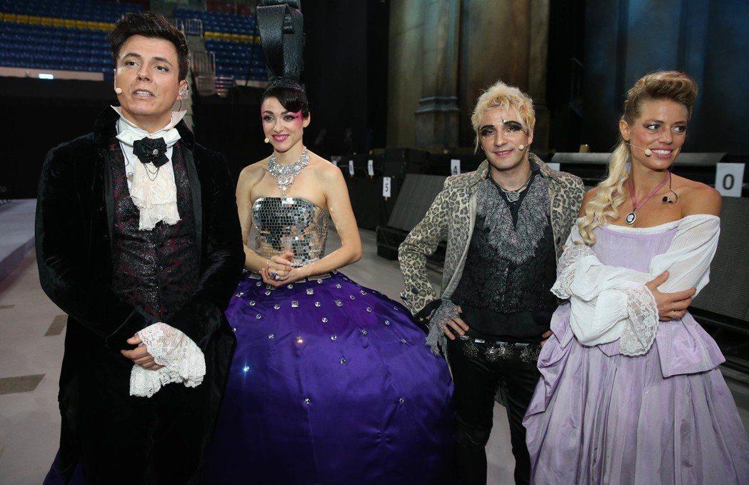 經典法文音樂劇《搖滾莫札特》首度登台,昨晚於台北首演,男女主角展現迷人風采。 記...