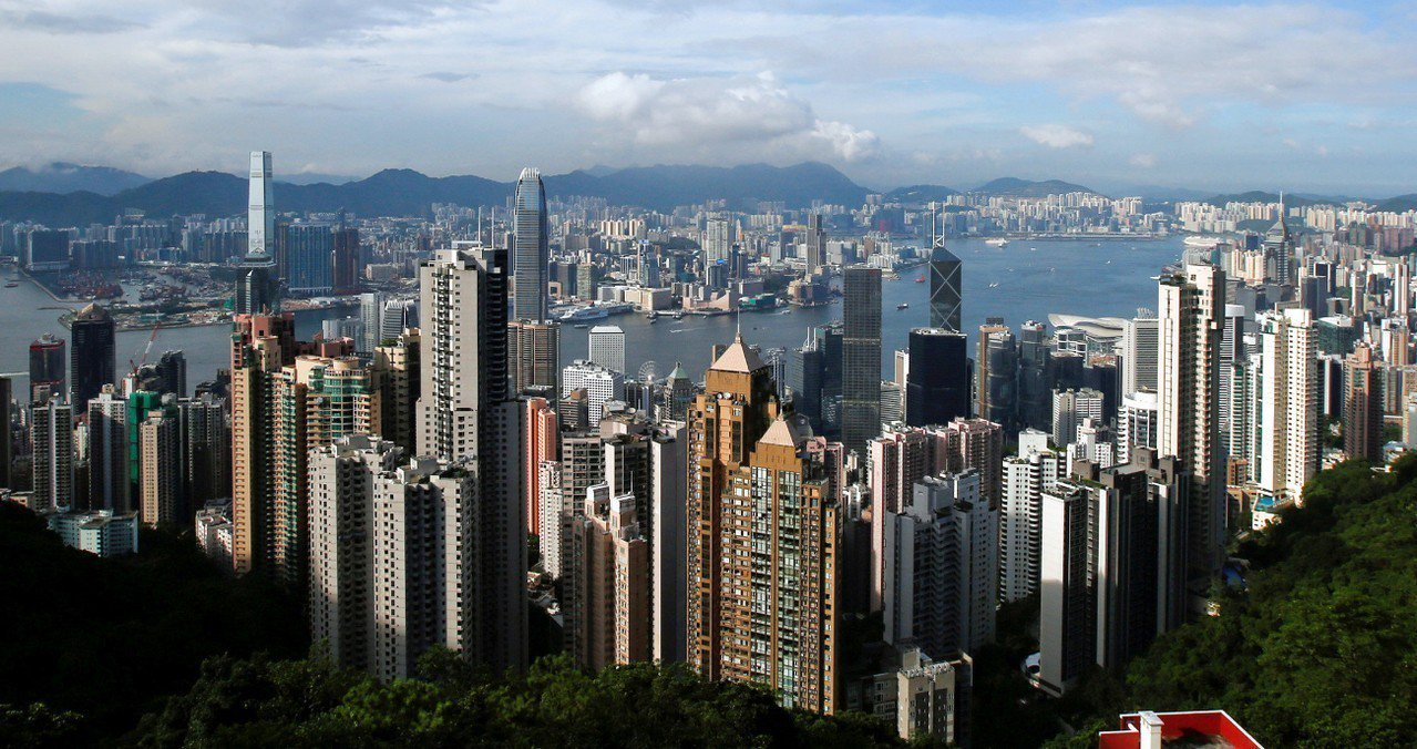 全球城市競爭力排行榜,香港在中國城市中排名首位。 路透社