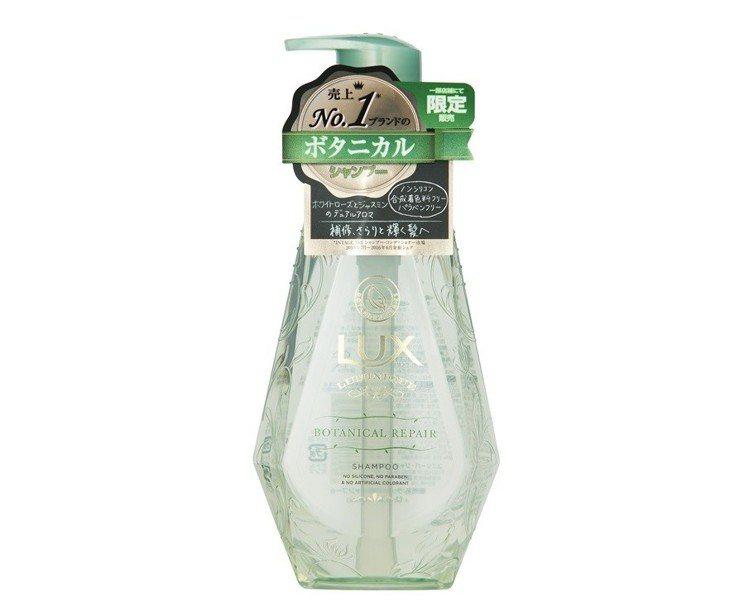 松本清熱銷排行榜第5名:LUX綠色奇蹟植萃無矽靈洗髮乳450g,售價298元。圖...