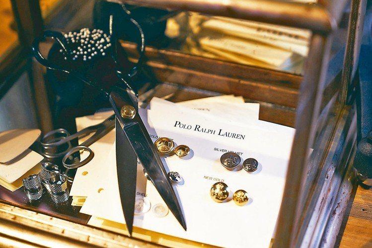 POLO RALPH LAUREN首度在台推出量身訂製西裝。圖/各品牌提供