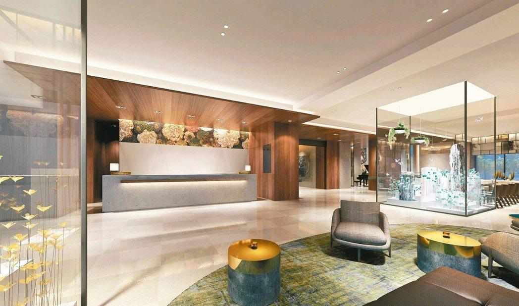 希爾頓逸林酒店正式進軍台灣市場,近期將正式開幕。 台北中山逸林酒店/提供