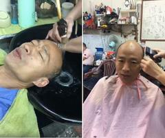 20萬人看他直播洗頭髮 韓國瑜:不知道蘇貞昌怎麼洗?