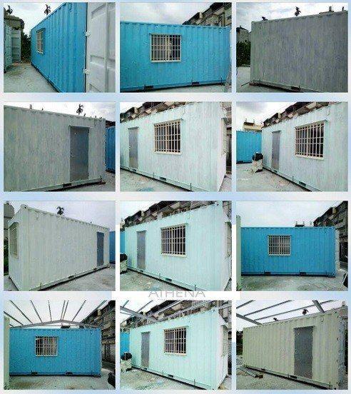 戰神多功能水性塗料讓鐵皮屋、貨櫃屋煥然一新。業者/提供