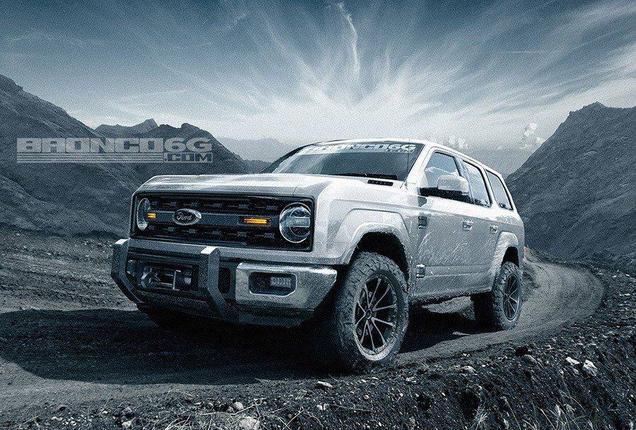 摘自carscoops/Bronco6G製作