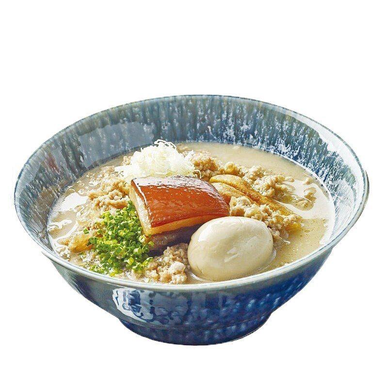 醬油角煮拉麵,每碗300元。圖/MORUMORU提供