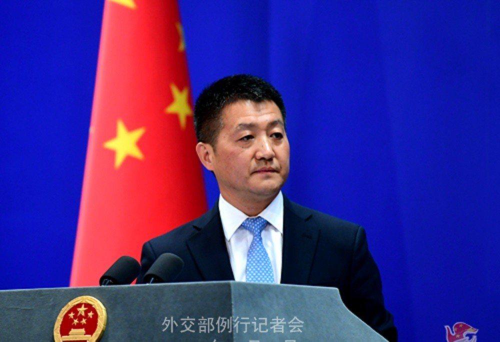 中共外交部發言人陸慷。中共外交部官網